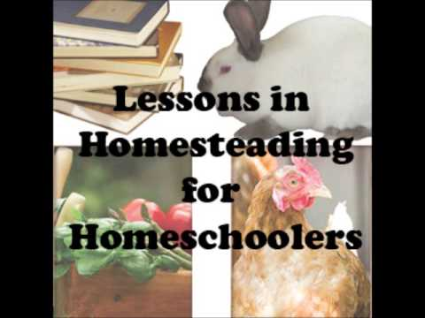 Homesteading Lessons in Homeschooling