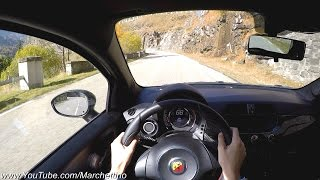 YOU Drive the Abarth 695 Biposto Fast! - POV Test Drive