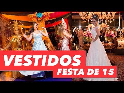 FESTA DE 15 ANOS MAISA - VESTIDOS