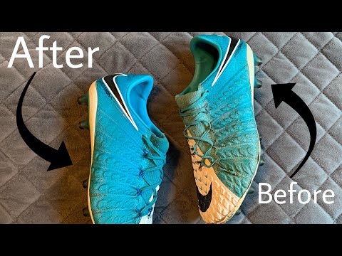 How to get turf stains off of your cleats/boots!