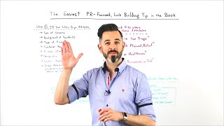 The Easiest PR Focused Link Building Tip in the Book - Whiteboard Friday