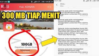Viral ! Ratusan GB Kuota Tsel Paket Gratis Jebol dari Aplikasi Roli