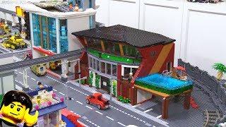 LEGO apartment MOC building progress part 3!