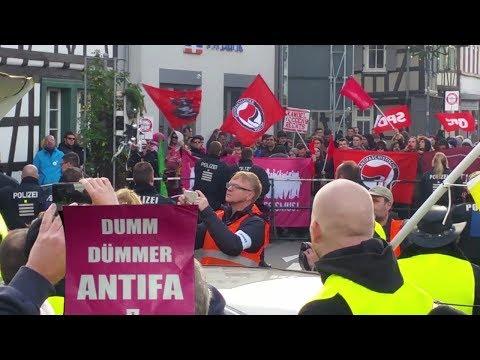 Dumm Dümmer Antifa - Kandel-Demo 1.12.2018