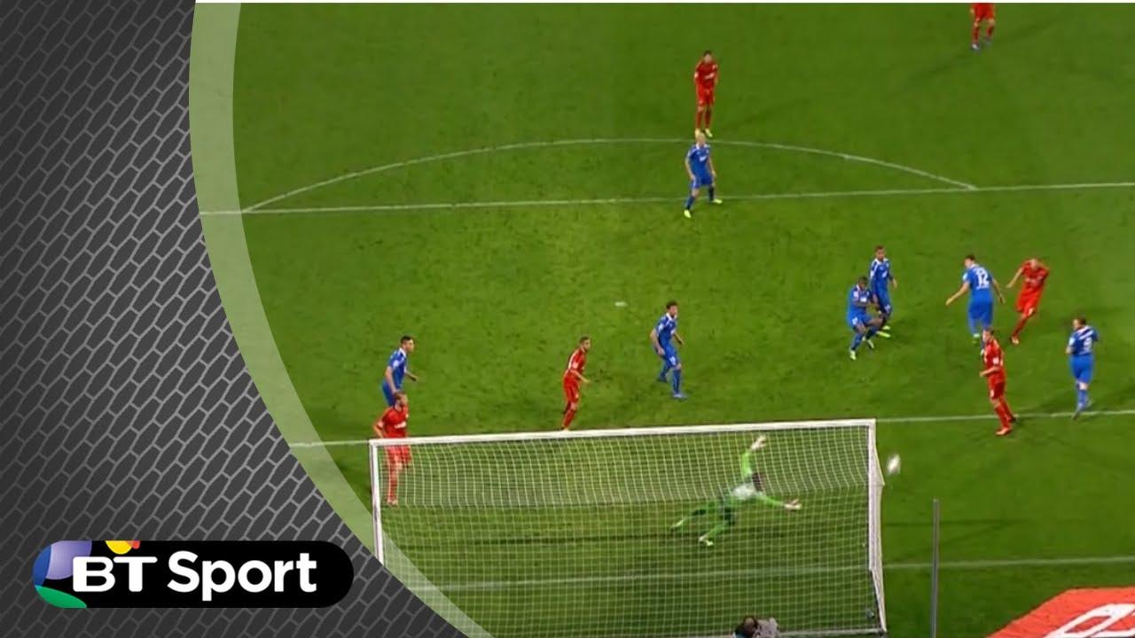 Download Bayer Leverkusen 'ghost goal' - the most bizarre goal in football? | #BTSport