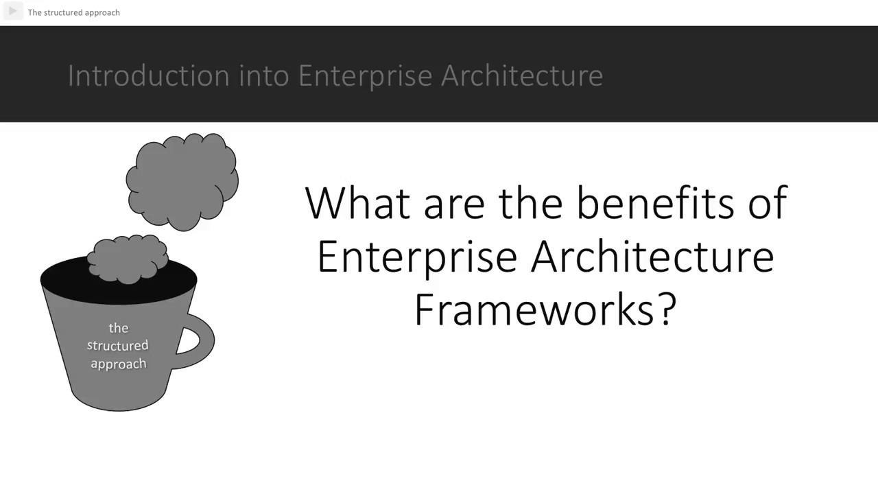 Perfect 04 What Are The Benefits Of Enterprise Architecture Frameworks?