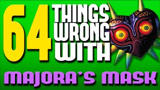 One of Really Freakin' Clever's most viewed videos: 64 Things WRONG With Majora's Mask