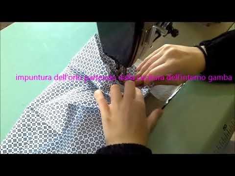 Tutorial Per Fare Un Orlo Pantaloni N 1 Youtube