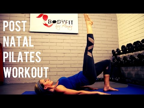 15 Minute Post Natal Pilates Workout