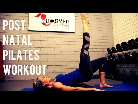 15 Minute Postnatal Pilates Workout