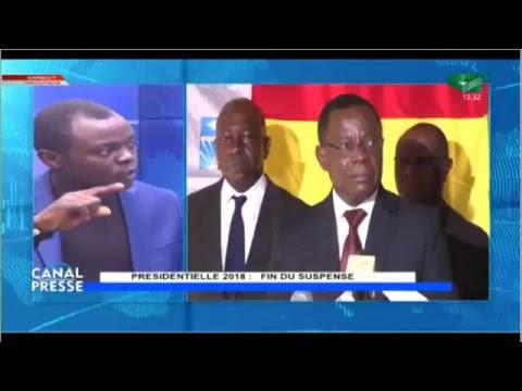 """Canal Presse du 21/10/2018: """"PRÉSIDENTIELLE 2018: Fin du Suspense"""""""
