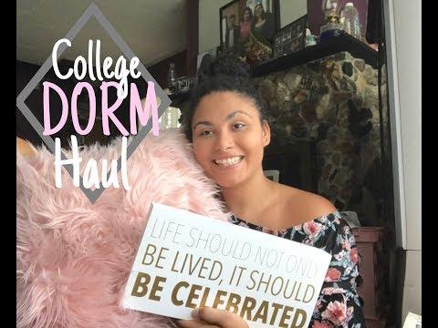 College Dorm Haul//Olivet Freshman Year