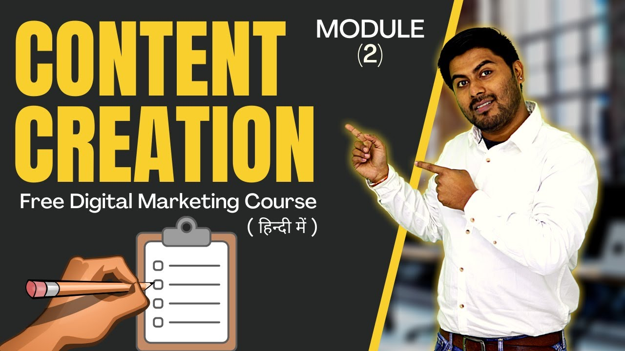 While those things are still essential, a significant part must also include a digital marketing strategy. How To Create Content? | Module 2 | Free Digital Marketing ...