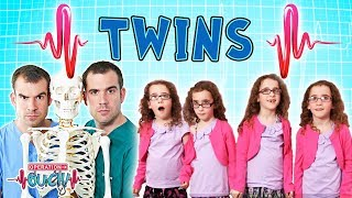 Twins & Quadruplets | Biology for Kids | Science for kids  | Experiments for kids | Operation Ouch
