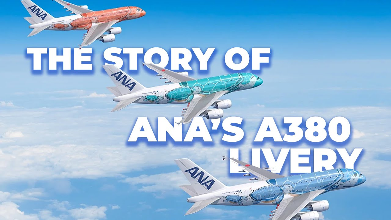The Story Behind ANA's Colorful Airbus A380 Liveries