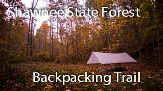 Shawnee State Forest:  Full Backpacking Loop