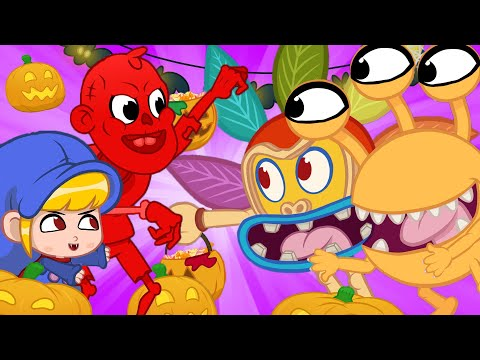 Morphle's Moster Scare Halloween Game   Halloween Stories For Kids   Morphle and Orphle