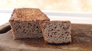 Домашний гречневый хлеб без глютена. Без замеса, все смешал и готово!