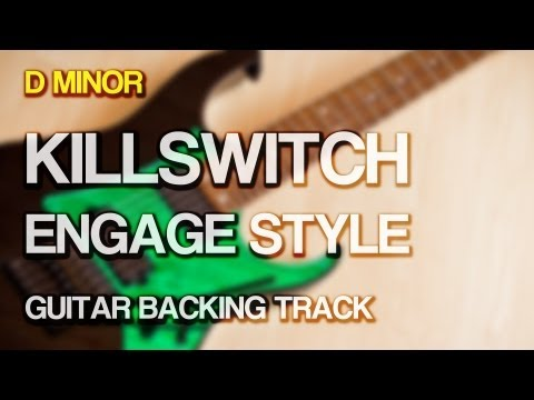 Killswitch Engage Style Guitar Backing Track [ D Minor / Drop D ]