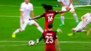 BUT DU PORTUGAL | 1/4 POLOGNE - PORTUGAL | EURO 2016