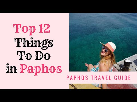Top Things To Do in Paphos // CYPRUS TRAVEL GUIDE