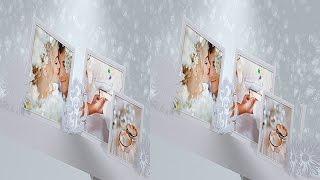 Свадебное слайд шоу 3D стерео
