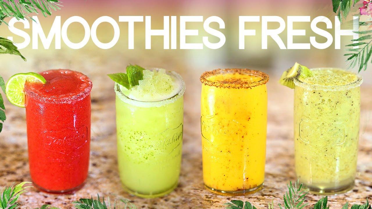 Bebidas refrescantes fáciles y saludables (Smoothies sin azúcar)