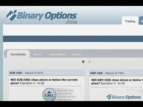 Trading range binary options