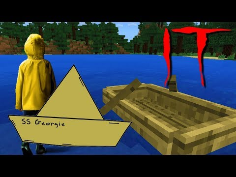 Do NOT Search for Georgie's Boat at 3AM in this Minecraft World! (Scary IT World)