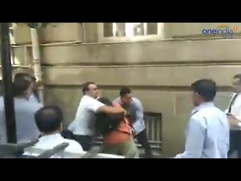 Journalists beaten up by security guards at Tata Group Bombay House Headquarter | वनइंडिया हिन्दी