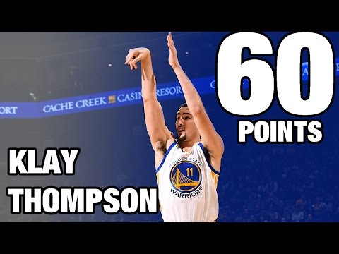Klay Thompson CAREER HIGH 60 POINTS Against the Pacers | 12.05.16