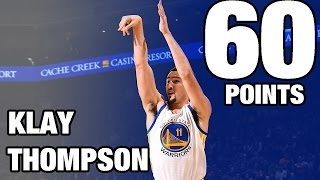 Klay Thompson CAREER HIGH 60 POINTS in 29 Minutes | 12.05.16 thumbnail