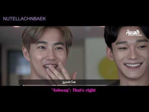 160717 - Interview With Sabah-Alarabiya (Full Ver+BTS Clips) - EXO [ENG SUB]