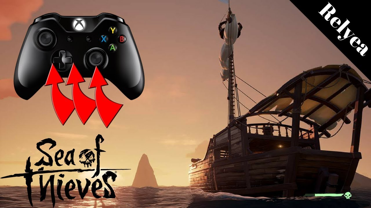 Sea of Thieves PSA Controller Mapping for Quick Select Items