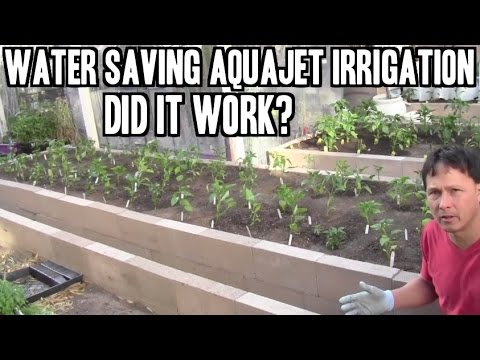 Easy to Install AquaJet Irrigation System Review - Did it Work??