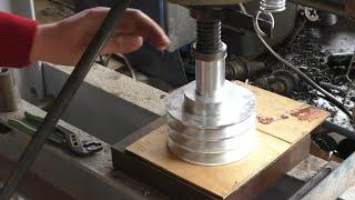 Ремонт шкива отлитого из алюминия