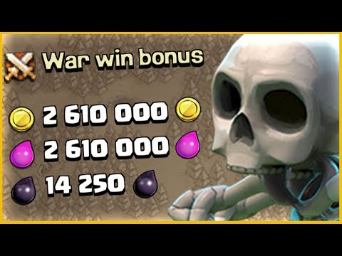 PLEASE LET ME HAVE THIS!! .....BEST Clash of Clans JACKPOT EVER