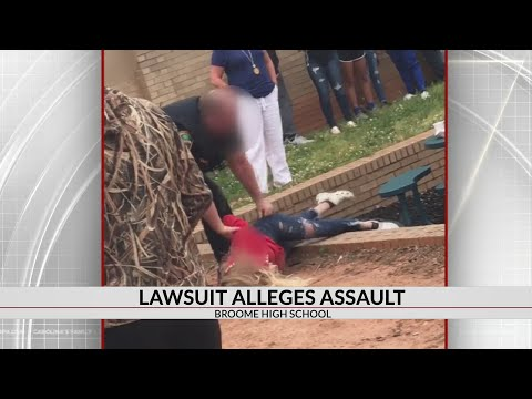Broome High School Student files lawsuit after rough treatment by Resource Officer