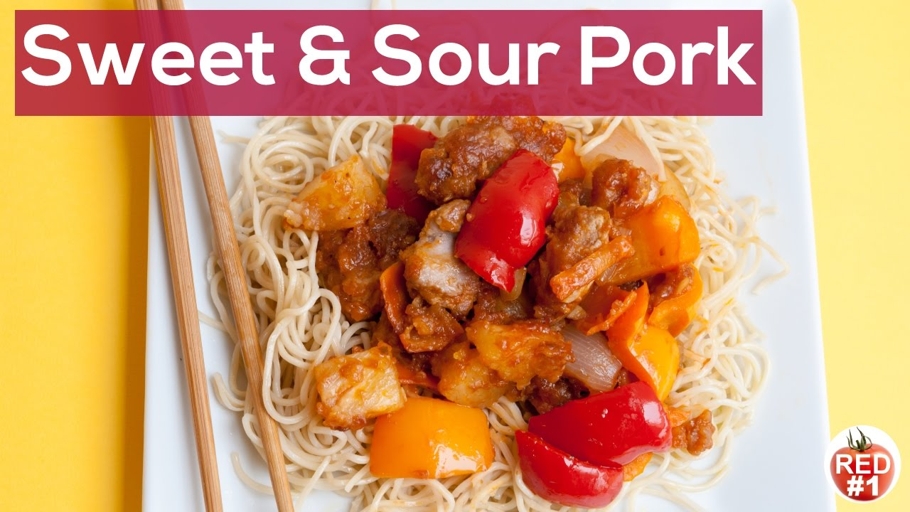Sweet and sour pork chinese recipe youtube sweet and sour pork chinese recipe forumfinder Images
