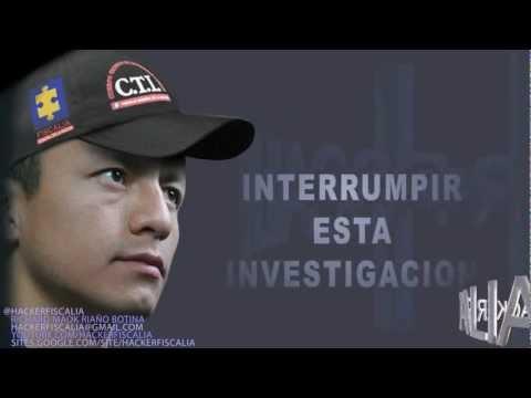 5 de 16 - Máxima Infiltración Paramilitar @hackerfiscalia lo denuncia