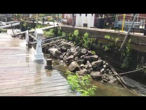 Combined sewer overflow in Kingston, NY