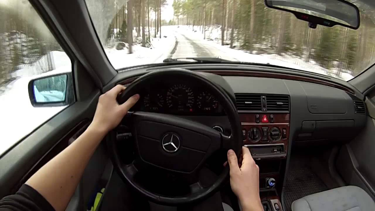 mercedes benz c180 w202 norwegian drift youtube. Black Bedroom Furniture Sets. Home Design Ideas