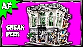 Lego City Creator BRICK BANK 10251 Sneak Peek Official Images
