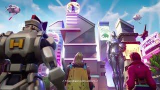 Fortnite season 9 cutscene battle pass & gameplay Neo Tilted