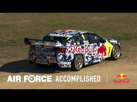 Behind the scenes as the Air Force Trades & Red Bull V8 Racing join forces