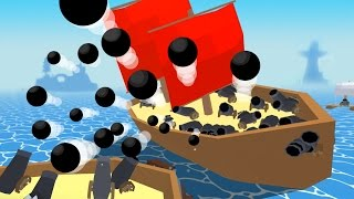 HUGE SHIP FIRES LOTS OF CANNONS! - Krew.io
