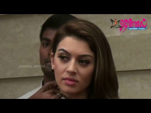 Actress Hansika  Romancing in Uyire Uyire...