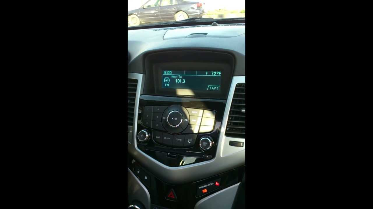 2012 chevy cruze radio problem youtube. Black Bedroom Furniture Sets. Home Design Ideas