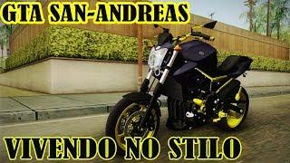 GTA SAN-ANDREAS- VIVENDO NO STILO-SÓ NAS MOTOCAS