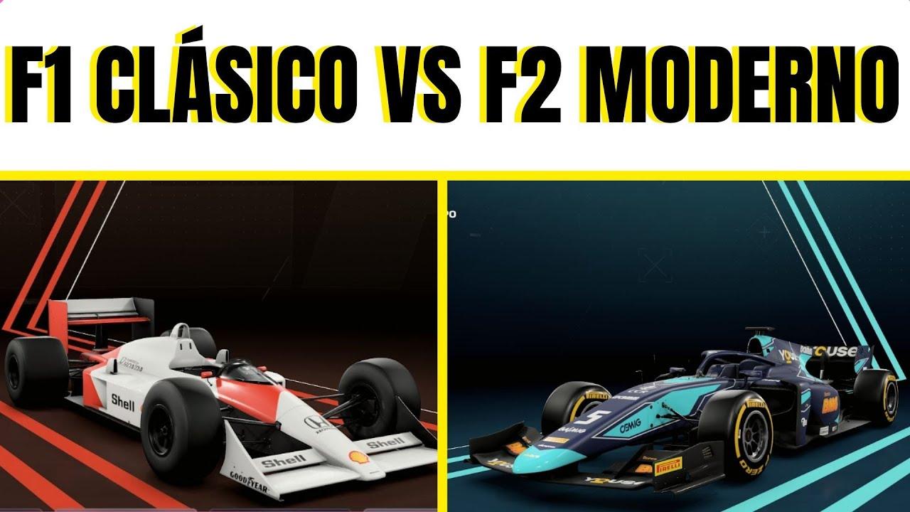 PUEDE un F1 CLÁSICO GANAR a un F2 MODERNO? | F1 2020